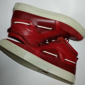 Authentic Gucci Men's High Top Sneakers
